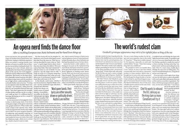 Article Preview: An opera nerd finds the dance floor, August 2013 | Maclean's