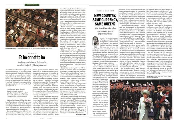 Article Preview: To be or not to be, August 2013 | Maclean's