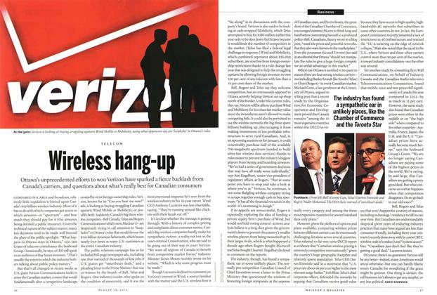 Article Preview: Wireless hang-up, August 2013 | Maclean's