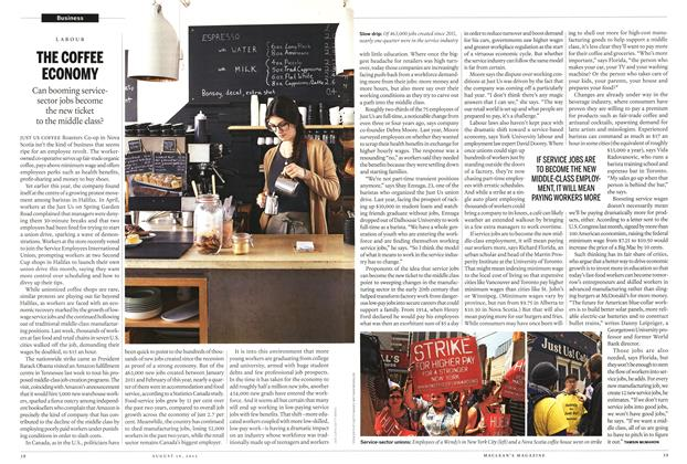 Article Preview: THE COFFEE ECONOMY, August 2013 | Maclean's
