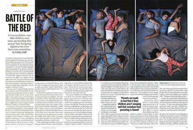 Article Preview: BATTLE OF THE BED, August 2013 | Maclean's