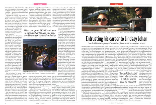 Article Preview: Entrusting his career to Lindsay Lohan, August 2013 | Maclean's