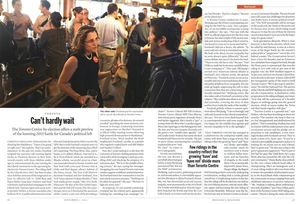 Article Preview: Can't hardly wait, September 2013 | Maclean's