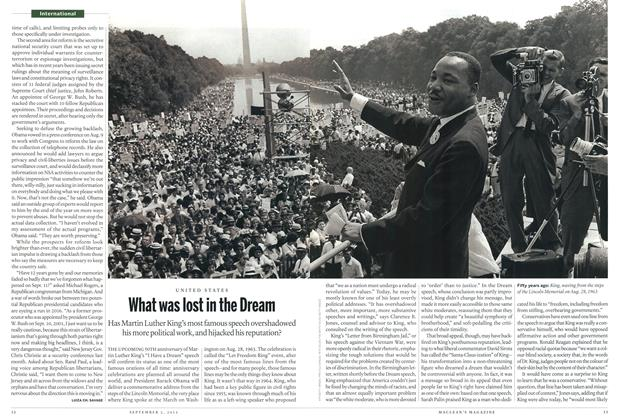 Article Preview: What was lost in the Dream, September 2013 | Maclean's
