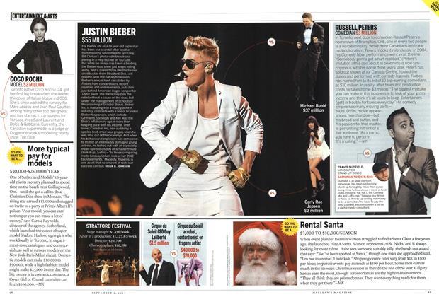 Article Preview: ENTERTAINMENT & ARTS, September 2013 | Maclean's
