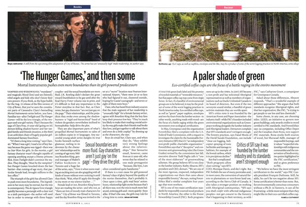 Article Preview: 'The Hunger Games,' and then some, September 2013 | Maclean's