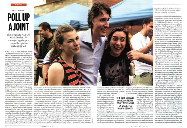 Article Preview: POLL UP A JOINT, September 2013   Maclean's