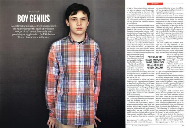 Article Preview: BOY GENIUS, September 2013 | Maclean's