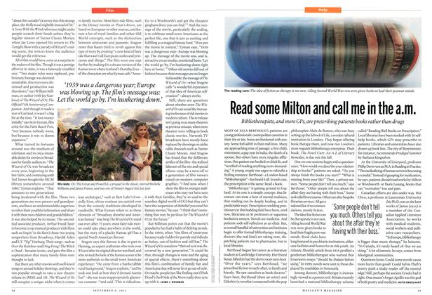 Article Preview: Read some Milton and call me in the a.m., September 2013 | Maclean's