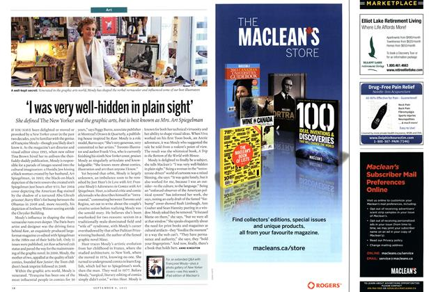 Article Preview: 'I was very well-hidden in plain sight', September 2013 | Maclean's