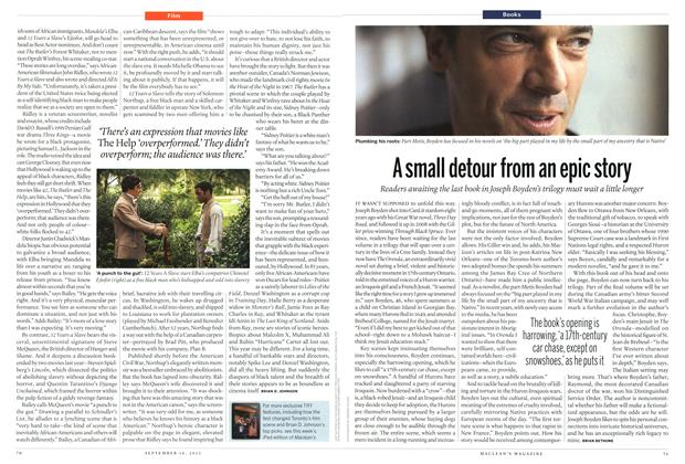 Article Preview: A small detour from an epic story, September 2013 | Maclean's
