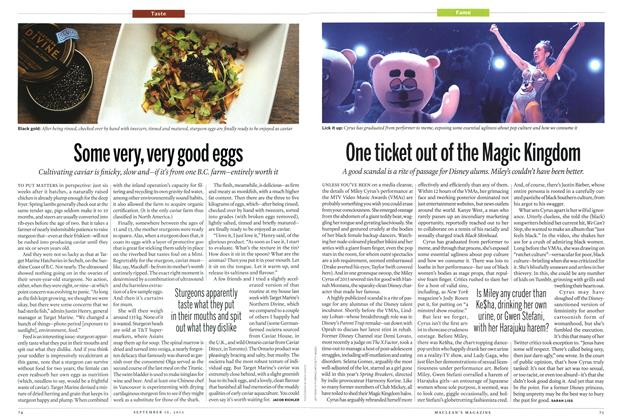 Article Preview: Some very, very good eggs, September 2013 | Maclean's