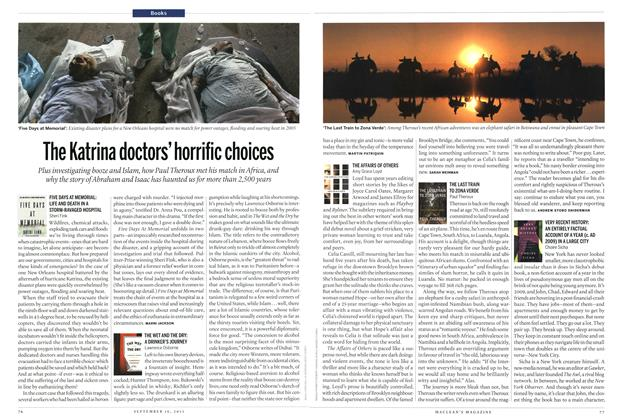 Article Preview: The Katrina doctors' horrific choices, September 2013 | Maclean's