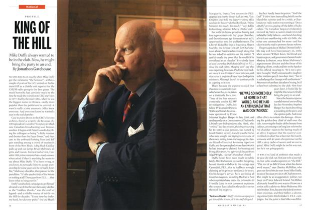 Article Preview: KING OF THE HILL, September 2013 | Maclean's