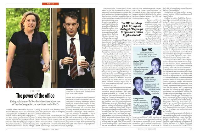 Article Preview: The power of the office, September 2013 | Maclean's