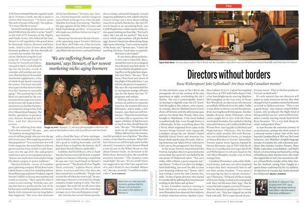 Article Preview: Directors without borders, September 2013 | Maclean's