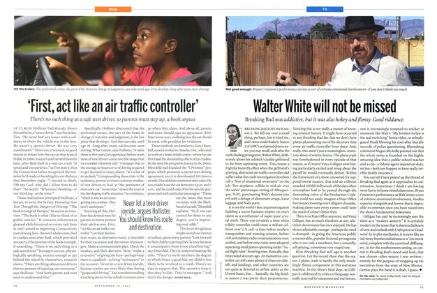 Article Preview: 'First, act like an air traffic controller', September 2013 | Maclean's