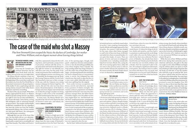 Article Preview: The case of the maid who shot a Massey, September 2013 | Maclean's