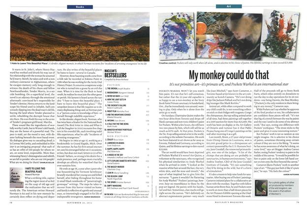 Article Preview: My monkey could do that, September 2013 | Maclean's