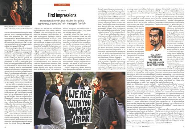 Article Preview: First impressions, October 2013 | Maclean's