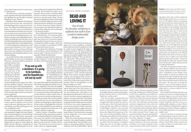 Article Preview: DEAD AND LOVING IT, October 2013 | Maclean's