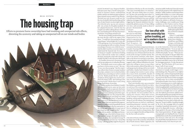 Article Preview: The housing trap, October 2013 | Maclean's