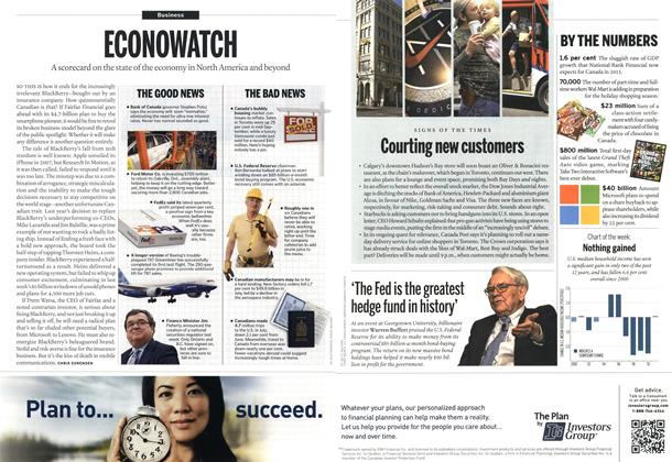 Article Preview: ECONOWATCH, October 2013 | Maclean's