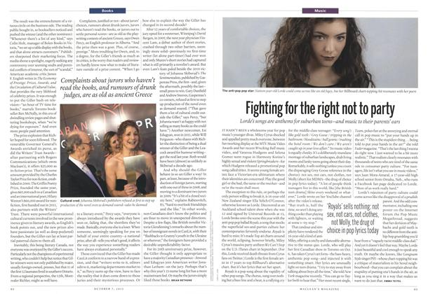 Article Preview: Fighting for the right not to party, October 2013 | Maclean's