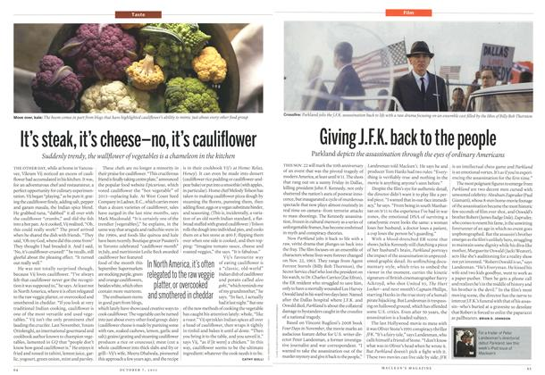 Article Preview: It's steak, it's cheese-no, it's cauliflower, October 2013 | Maclean's