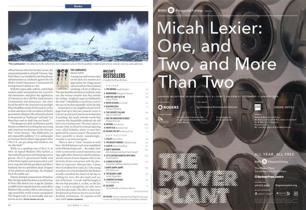 Article Preview: MACLEAN'S BESTSELLERS, October 2013 | Maclean's