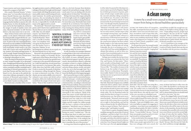 Article Preview: A clean sweep, October 2013 | Maclean's