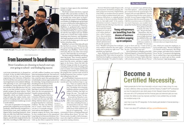 Article Preview: From basement to boardroom, October 2013 | Maclean's