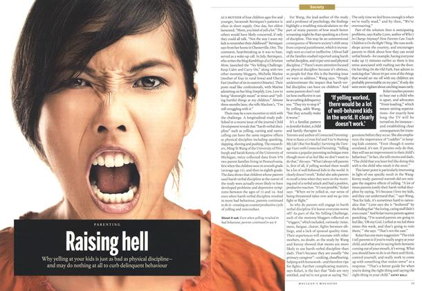 Article Preview: Raising hell, October 2013 | Maclean's
