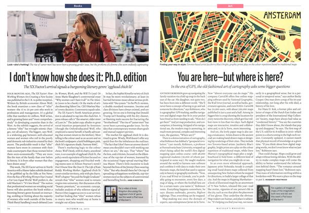 Article Preview: I don't know how she does it: Ph.D. edition, October 2013 | Maclean's