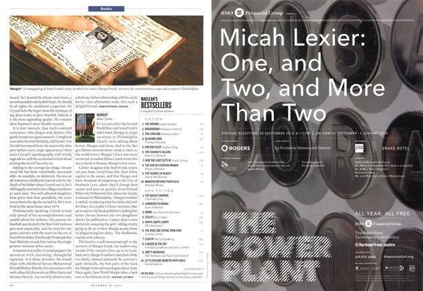 Article Preview: MARGOT Jillian Cantor, October 2013 | Maclean's
