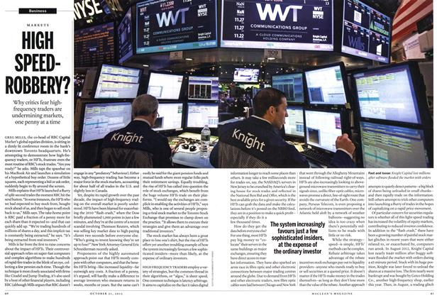 Article Preview: HIGH SPEED-ROBBERY?, October 2013 | Maclean's