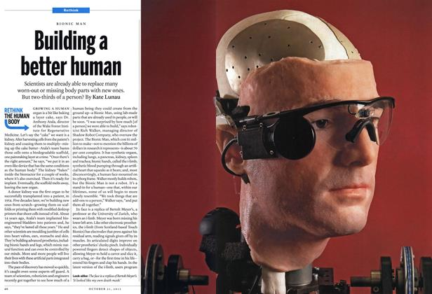 Article Preview: Building a better human, October 2013 | Maclean's