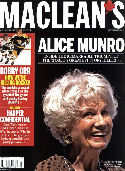 Issue: - October 2013   Maclean's