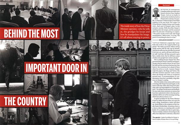 Article Preview: BEHIND THE MOST IMPORTANT DOOR IN THE COUNTRY, October 2013 | Maclean's