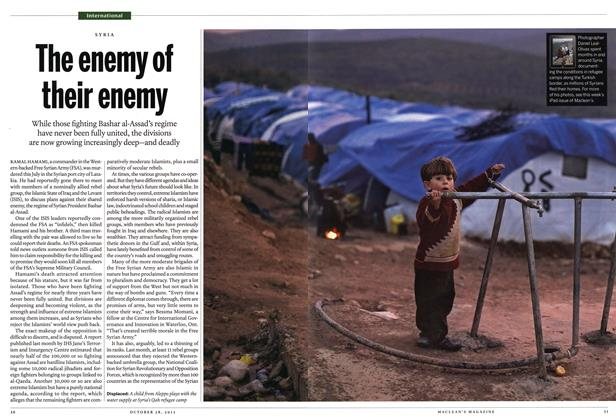 Article Preview: The enemy of their enemy, October 2013 | Maclean's