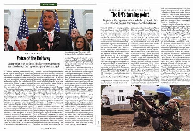 Article Preview: Voice of the Beltway, October 2013 | Maclean's