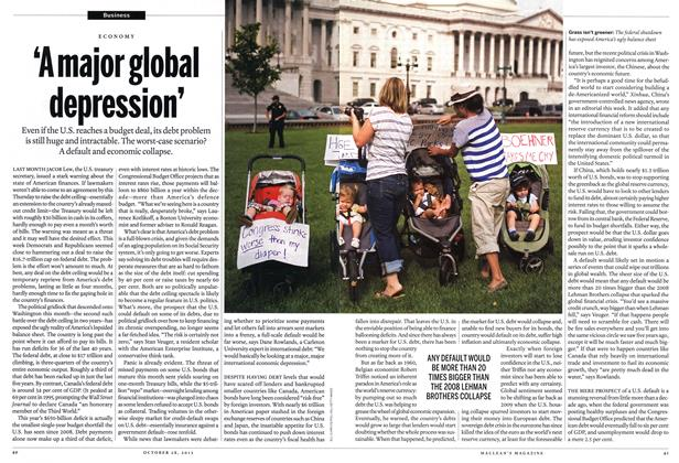Article Preview: 'A major global depression', October 2013 | Maclean's
