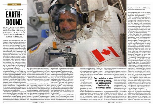 Article Preview: EARTHBOUND, October 2013 | Maclean's
