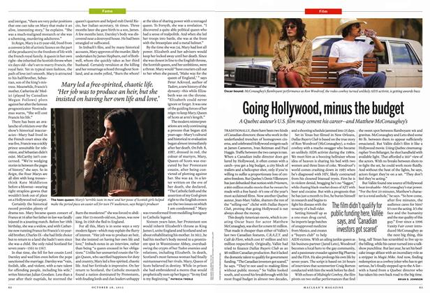 Article Preview: Going Hollywood, minus the budget, October 2013 | Maclean's