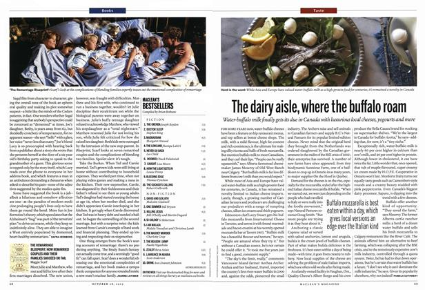 Article Preview: The dairy aisle, where the buffalo roam, October 2013 | Maclean's
