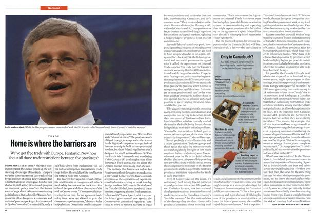 Article Preview: Home is where the barriers are, November 2013 | Maclean's