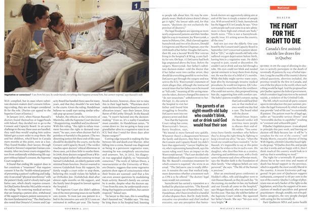 Article Preview: THE FIGHT FOR THE RIGHT TO DIE, November 2013 | Maclean's