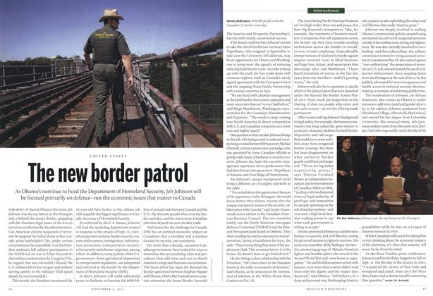 Article Preview: The new border patrol, November 2013 | Maclean's