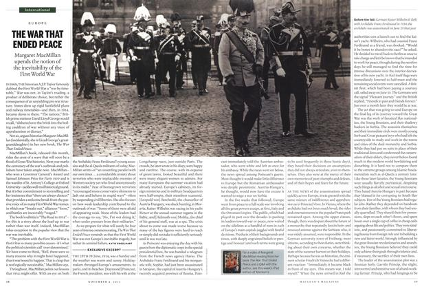 Article Preview: THE WAR THAT ENDED PEACE, November 2013 | Maclean's