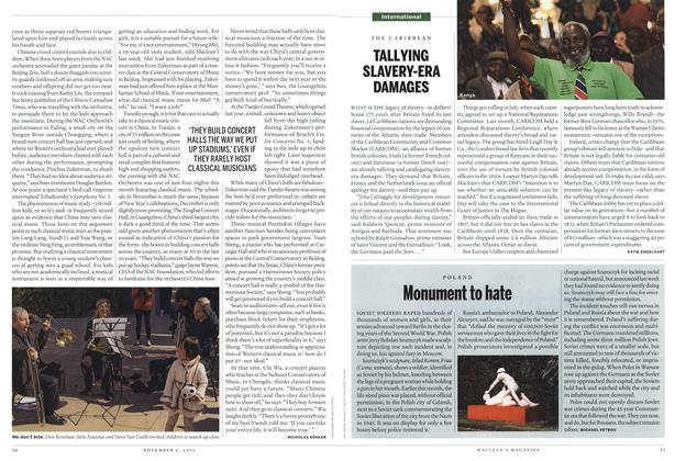 Article Preview: Monument to hate, November 2013 | Maclean's